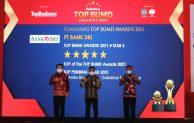 Bank DKI raih Top BUMD Awards 2021