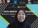 Dukung Pengembangan UMKM DIY, Angkasa Pura I Berikan Pelatihan Pemasaran Digital pada Mitra Binaan