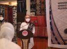 Ketua Umum Dekranas Hj. Wury Ma'ruf Amin Membuka Secara Resmi Program Pendidikan Kecakapan Wirausaha Tenun Ikat di NTT