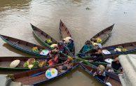 Wisata Pasar Terapung Setiap Hari, Angkasa Pura I Serahkan Perahu Jukung
